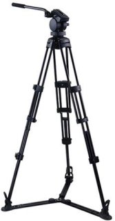 """Acebil P-32GX Professional Tripod System with QR Video Pan Head T752 Aluminum Tripod GS-3 Ground Spreader Supports 17.6 lbs. Max Height 67"""""""