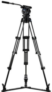 Acebil P-62CGX Tripod Kit Includes H60 100mm Ball Head T1002C Carbon Fiber Tripod GS-3 Ground Spreader and SC-95 Carrying Case