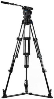 Acebil P-62GX Tripod Kit Includes H60 100mm Ball Head T1002 Tripod Stand GS-3 Ground Spreader and SC-95 Carrying Case