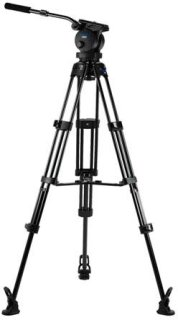 Acebil P-62MX Tripod Kit Includes H60 100mm Ball Head T1002 Tripod Stand MS-3 Middle Spreader RF-3 Rubber Foot and SC-95 Carrying Case