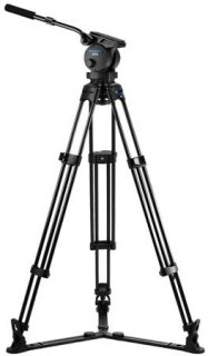 Acebil P-70GX Tripod Kit Includes H70 100mm Ball Head T1000 Tripod Stand GS-3 Ground Spreader and SC-110 Carrying Case