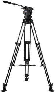 Acebil P-70MX Tripod Kit Includes H70 100mm Ball Head T1000 Tripod Stand MS-3 Middle Spreader RF-3 Rubber Foot and SC-110 Carrying Case