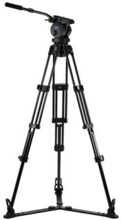 Acebil P-72GX Tripod Kit Includes H70 100mm Ball Head T1002 Tripod Stand GS-3 Ground Spreader and SC-95 Carrying Case
