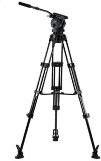 Acebil P-72MX Tripod Kit Includes H70 100mm Ball Head T1002 Tripod Stand MS-3 Middle Spreader RF-3 Rubber Foot and SC-95 Carrying Case