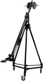 Acebil PRO3300 Jib-Arm Kit Includes Tripod T1200 Dolly D3 and Carrying Case 44lbs Load Capacity