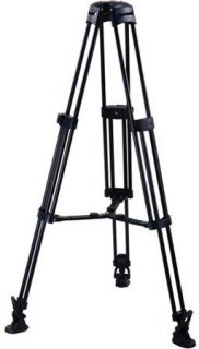 Acebil T750 Single Stage/75mm Base Aluminum Tripod with MS-3 Mid-level Spreader and RF-3 Rubber Foot
