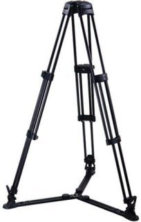 Acebil T750 Single Stage Aluminum Tripod with GS-3 Ground Spreader and Case