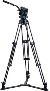 """Acebil Tripod Kit Includes EH-80 100mm Ball Head T1000 Tripod Stand GS-3 Ground Spreader and S-50 Carrying Case 17.6-40 lb Load Capacity 64"""" Max Height"""
