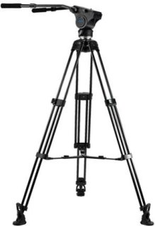 Acebil Tripod Kit Includes HM40 Head T750 Tripod MS-3 Middle Spreader RF-3 Rubber Foot and S-50 Carrying Case Load Capacity 33lbs
