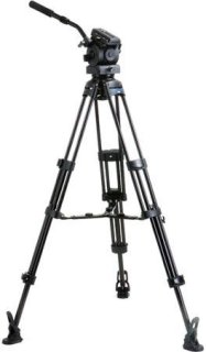 Acebil Tripod Kit with EH-80 Pan/Tilt Head T1002 Tripod MS-5 Middle Spreader RF-3 Rubber Foot & S52 Case Supports 40lbs. Max Height 66""