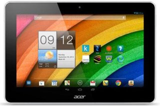 """Acer A3-A10-L662 10"""" ANDROID 4.2 Tablet - White Quad Core 1.2Ghz Processor 1 GB Ram 16GB Memory"""