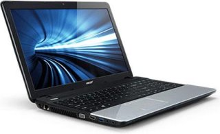 "Acer Aspire E1-571-6607 15.6"" Notebook Intel Core i3 2348M 2.30GHz 4GB RAM 500GB HDD DVD-Writer Intel HD 3000 Graphics Windows 7 Home Premium 64-bit"