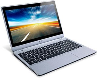 "Acer Aspire V5-132P-2446 11.6"" Touchscreen Notebook Computer Intel Celeron 1017U 1GHz 4GB RAM 500GB HDD Windows 8 64-Bit Silver"