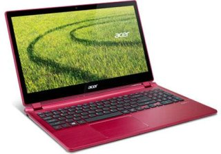 """Acer Aspire V5-552P-8629 15.6"""" Touchscreen Notebook Computer AMD Quad-Core A8-5557 2.1GHz 6GB RAM 750GB HDD Windows 8 64-Bit Red"""