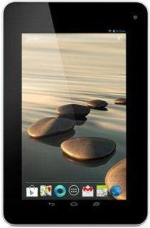 """Acer Iconia B1-710-L401 7"""" LED Tablet Computer MediaTek 8317T 1.2GHz 512MB DDR3 RAM 8GB Flash Memory Android 4.1 Jelly Bean Pure White"""