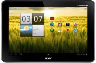 "Acer Iconia TAB A Series A200-10g16u 10.1"" Tablet NVIDIA Tegra 2 250 Dual-Core 1GHz 1GB RAM 16GB Flash Memory Android Honeycomb Titanium Gray"