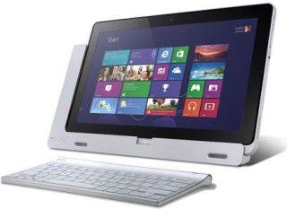 """Acer Iconia W700-6680 11.6"""" Tablet Computer Intel Core i5-3317U 1.70GHz 4GB DDR3 RAM 128GB SSD Windows 8"""