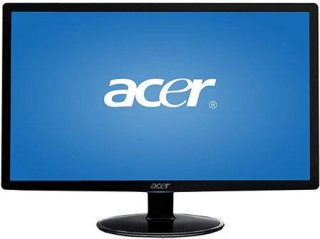 "Acer S242HL bid 24"" Widescreen LCD Monitor 1920x1080 Resolution 1000:1 Contrast Ratio 250cd/m2 Brightness"