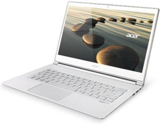 "Acer S7-392-6484 13.3"" TouchScreen UltraBook Computer Glass White Intel i5-4200U 1.6GHZ 8GB RAM 256GB SSD Windows 8"