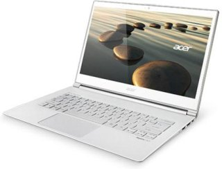 "Acer Aspire S7-392-6832 13.3"" Full HD Touchscreen Ultrabook Computer Intel Core i5-4200U 1.6GHz 8GB RAM 128GB SSD Win 8 Home White"