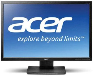 "Acer V203HL BJObmd 20"" LED Backlit Widescreen LCD Monitor with Speakers 1600x900 Resolution 250cd/m2 Brightness VGA + DVI with HDCP Inputs"