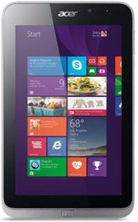 "Acer W4-820-2466 8"" Windows 8 Tablet - Iron Intel Atom Z3740 Quad Core 1.33Ghz Processor 2 GB Ram 64GB Memory"