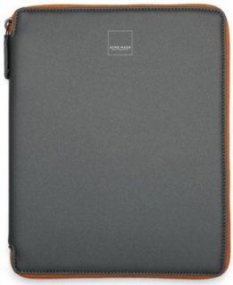 Acme Made Bay Street Case for iPad Gray/Orange