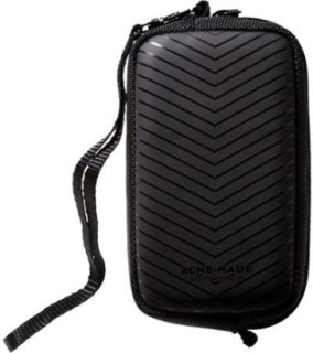 Acme Made CMZ Camera Pouch Matte Black Chevron