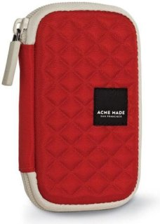 Acme Made Fillmore Street Hard Case Flash Red