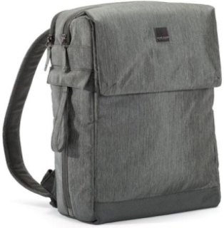 """Acme Made Montgomery Street Backpack - Grey Fits DSLR with Additional Lens and 13"""" MacBook Pro"""