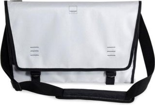 "Acme Made Nopa Tri-fold Laptop Bag Fits Computer with a Screen up to 15"" White"