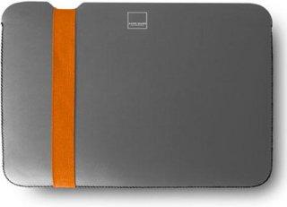 """Acme Made Skinny Sleeve for MacBook Air 11"""" Grey/Orange"""