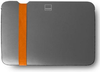"Acme Made Skinny Sleeve for MacBook Pro 13"" Grey/Orange"