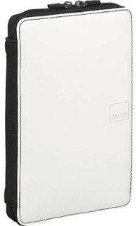 Acme Made Slick Case DX with Fully Zippered Scratch-Proof Cable Compartment for eReader - Gloss White