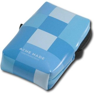 Acme Made Smart Little Pouch (Blue Gingham) Camera Pouch