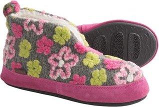 Acorn Daisy Bootie Slippers