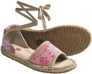 Acorn Espie Tie Sandals