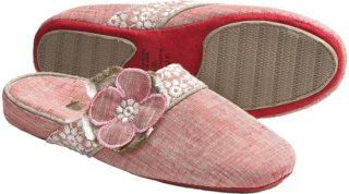 Acorn Grace Scuff Slippers