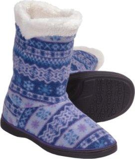 Acorn Peek-a-Boot Slippers