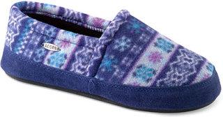 Acorn Polar Moc Slippers Icelandic Blue
