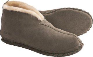 Acorn Sheep Bootie Slippers