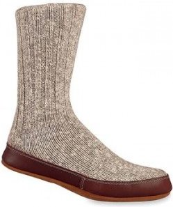 Acorn Slipper Sock and