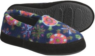 Acorn Polar Fleece Moc Slippers