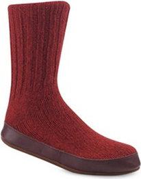 Acorn Ragg Wool Slipper Socks