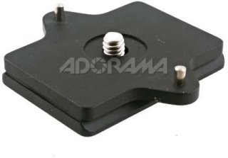 Acratech 2150 Quick Release Plate for the Contax 645 AF and Mamiya RB RZ / Non AF 645 without the Winder.