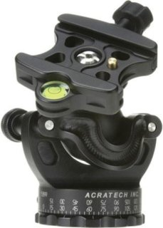 Acratech GP Ballhead with Gimbal Feature with all Rubber Knobs Quick Release / Detent Pin and Level Supports 25 lbs.