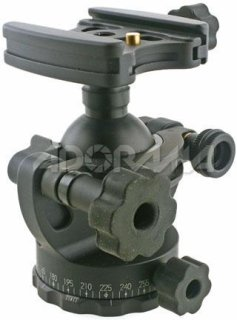 Acratech GV2 Ballhead with Gimbal Feature with all Rubber Knobs Quick Release / Detent Pin Supports 25 lbs.
