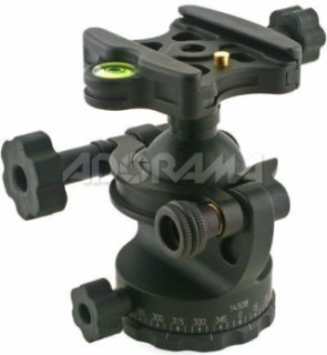 Acratech GV2 Ballhead with Quick Release Level and Detent Pin Supports 25 lbs.