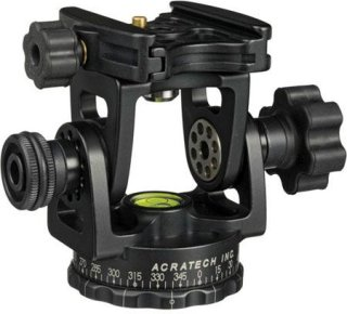 Acratech Long Lens Head with Fixed Clamp