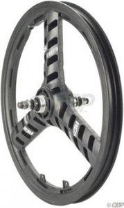 "Acs Stellar Mag Rear Wheel Black 3/8"" Axle"